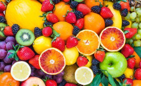 2. Eet zoveel mogelijk 'kleuren'